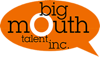 Angela Colville is represented by Big Mouth Talent Agency